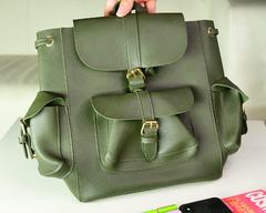 """Рюкзак женский """"Джо"""" - Зеленая"""